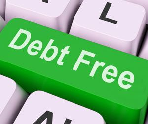 how to get rid of debt on your own